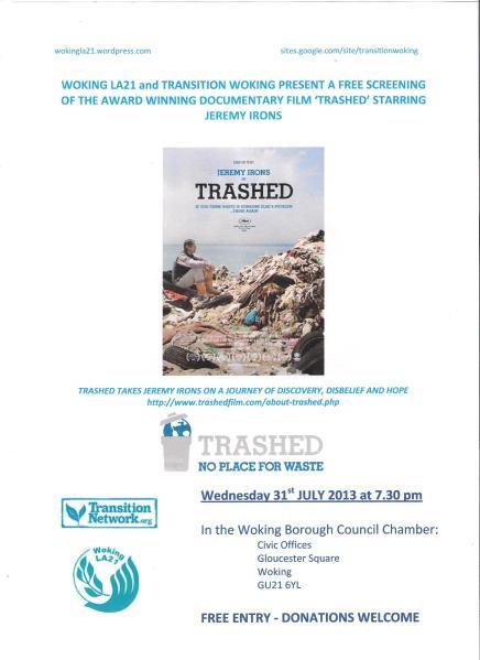 Trashed Film Poster 001