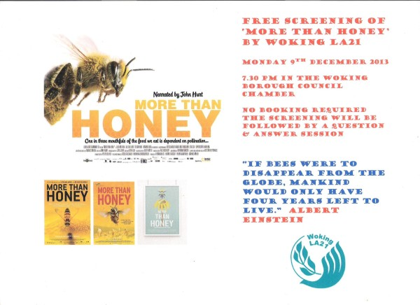 More Than Honey Poster 001